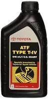 amazon com toyota lexus atf type t iv automatic transmission