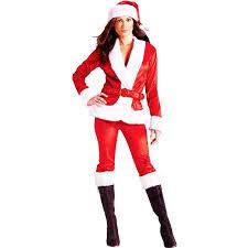 santa claus costume world costumes women s ms santa pant set
