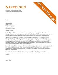 best account manager cover letter examples for recruiters 35 about