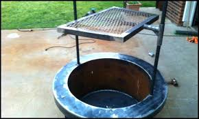 fire pit grill table combo how to make a fire pit grill coffee table fire pit grill