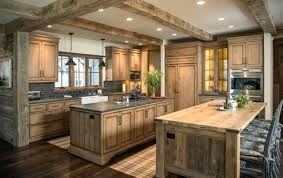 cuisine en bois brut awesome cuisine moderne bois massif meuble