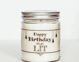 Personalized Birthday Candles Custom Soy Candle Birthday Scented Candle Personalized