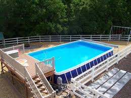 Intex Metal Frame Swimming Pools Intex Ultra Frame Swimming Pools The Ideas For Decks For Intex