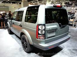land rover rear 2014 land rover discovery rear left indian autos blog