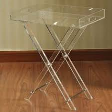 Acrylic Accent Table Clear Acrylic Zella Accent Table By World Market Clear Acrylic