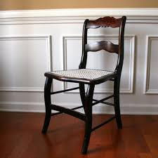 Vintage Wood Chairs Antique Caned Chair Cane Chair Desk Boudoir Chair By Rhapsodyattic