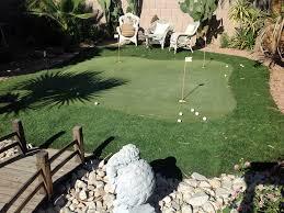 Putting Green In Backyard by Turf Grass Blackwater Arizona How To Build A Putting Green