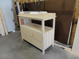 Convert Dresser To Changing Table Bedroom Changing Table Dresser Baby Dresser Changing Table