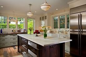 penthouse new orleans for a transitional kitchen with a marble