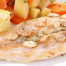 cuisiner filet de colin recette filets de colin aux amandes