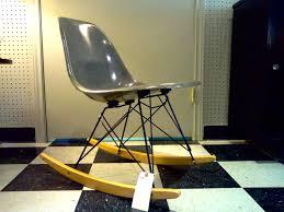 herman miller eames shell chair on eiffel rocker cool stuff