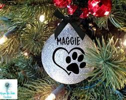 personalized pet ornament ornament cat