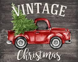 free christmas wall art printables vintage holidays and craft