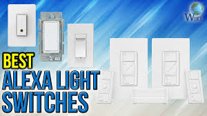 echo compatible light switch 7 best alexa light switches 2017 youtube