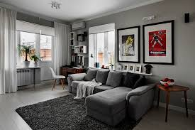 living room decoratif light grey paint living room with picture