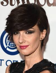 paz vega emo bangs short hairstyles lookbook stylebistro