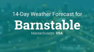 barnstable massachusetts usa 14 day weather forecast