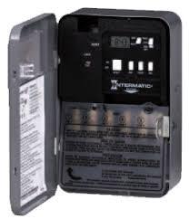 intermatic timer t101 indoor 24 hour dial 120v 40 amp 1 pole timer