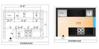 kitchen design and detail u2013 cad design free cad blocks drawings