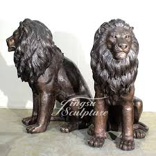antique bronze lion outdoor decoration size antique bronze lion statue buy lion