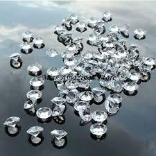 gems for table decorations 5000pcs clear 4 5mm 1 3 carat acrylic crystal gems confetti