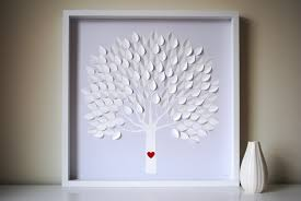 large wedding guest book wedding guest book alternative 3d wedding tree personalized