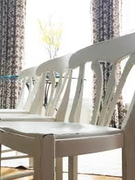 Paint Dining Room Chairs by Chair Makeover Black Bar Stools Become White Table Chairs The