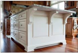 kitchen island with corbels kitchen w white accent island traditional kitchen milwaukee