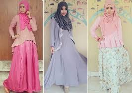 model baju muslim modern 45 trend model baju muslim desain terbaik 2018
