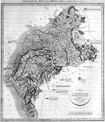 cumberland lake map 15 best maps images on antique maps maps and