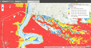 Lsu Campus Map Storm Surge Reaches Howe Russell Kniffen Profpost