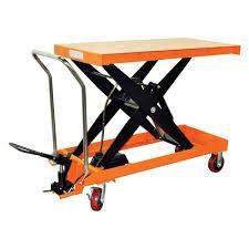 Hydraulic Scissor Lift Table by Hydraulic Scissor Lift Table Cart 2200 Lb Tf100d