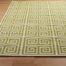 Yellow Flat Weave Rug Greek Chic Flatweave Rug Shades Of Light
