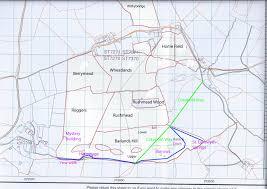 Barrows Map Maps Lilliput Farm