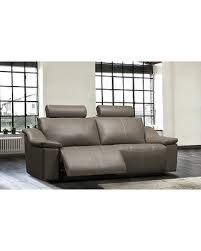 Power Leather Reclining Sofa Deal Alert 16 Relaxon Colbie Leather Reclining Sofa 41789