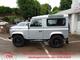 land rover silver used silver land rover defender for sale buckinghamshire