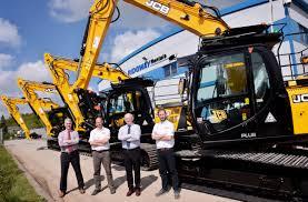 new jcb excavator investment at ridgway rentals ltd