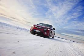 opel winter opel ampera vs baltic sea u0027s freezing temperatures autoevolution