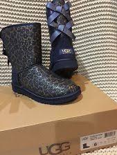 ugg womens glitter boots ugg australia print comfort boots for ebay