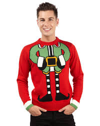 novelty knitted elf christmas jumpers like grandma used to knit