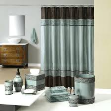 dazzling brown bathroom accessories teal and brown bath