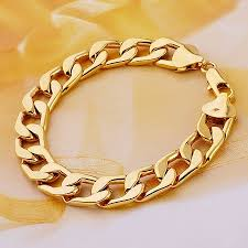 gold bracelet chains images 2018 wholesale fashion jewelry bracelet 6mm chain 18k yellow gold jpg