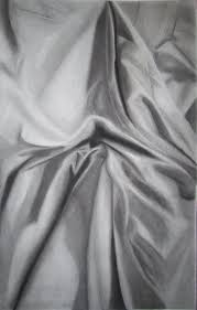 Charcoal Drapes Drawn Curtain Cloth Pencil And In Color Drawn Curtain Cloth