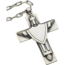 avery crosses sterling silver cross necklace avery