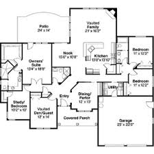 Contemporary Home With 4 Bdrms Floor Plans Aflfpw00645 1 Story Contemporary Home With 4 Bed