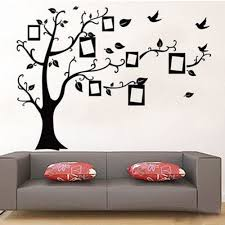 online get cheap sticker wall tree photo aliexpress alibaba photo frame wall stickers decorative tree decals decoration