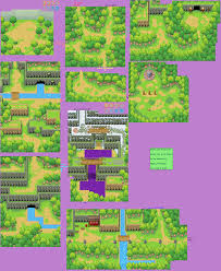 Naruto Map Ds Dsi Naruto Path Of The Ninja 2 Hidden Leaf Forest