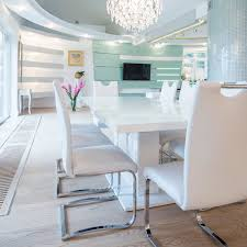 modern white dining room table modern white dining room zhis me