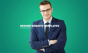 Resume Templates Website 15 Best Html5 Vcard And Resume Templates For Your Personal Online