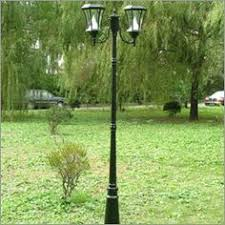 Backyard Light Post by 2 Heads 3 Heads Europe Garden Outdoor Lighting Poles Black Bronze